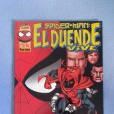 Discos de vinilo: SPIDERMAN, EL DUENDE VIVE, MARVEL COMICS, FORUM, BUEN ESTADO. Lote 215287493