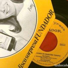 Discos de vinilo: LOS PUMAS Y LOS PEKENIKES (EP FUNDADOR 1967) CAROL - CUANDO CAMINAS - PEQUEÑA HONDA - LA GITANA. Lote 215302185