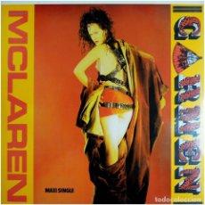 Discos de vinilo: MALCOLM MCLAREN – CARMEN - MAXI SPAIN 1984 - VIRGIN F 601 640. Lote 215307873