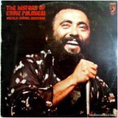 Discos de vinilo: EDDIE PALMIERI, VOCALS ISMAEL QUINTANA – THE HISTORY OF EDDIE PALMIERI - LP SPAIN 1977 - DISCOPHON. Lote 215308092