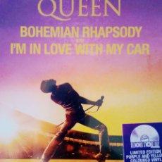 Discos de vinilo: QUEEN BOHEMIAN RHAPSODY/I M IN LOVE WITH MY CAR. Lote 215312606