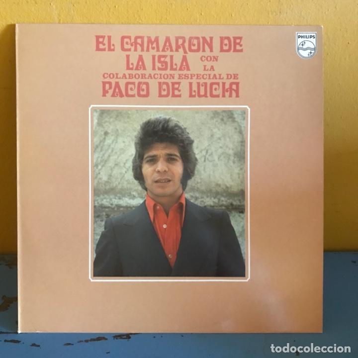 EL CAMARÓN DE LA ISLA CON LA COLABORACIÓN ESPECIAL DE PACO DE LUCÍA ? (Música - Discos - LP Vinilo - Flamenco, Canción española y Cuplé)