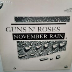 Discos de vinilo: GUNS N´ROSES- NOVEMBER RAIN- MAXI SINGLE SPAIN 1991 - EXC. ESTADO.. Lote 215349968