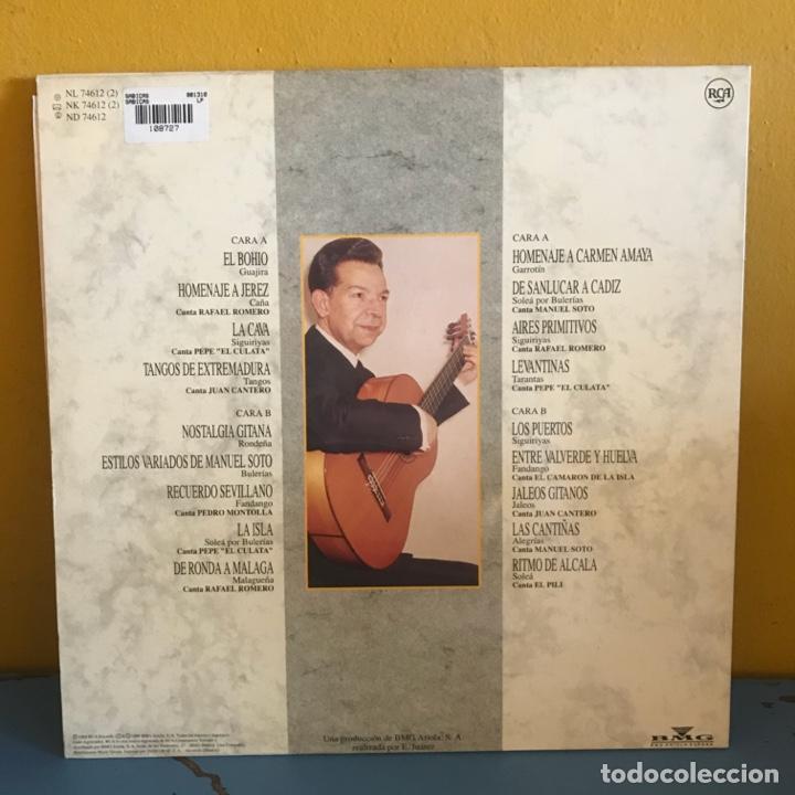 Discos de vinilo: Sabicas Con Las Voces De Camarón De La Isla, Manolo Soto Sordera, Pepe El Culata Y Otros - Foto 2 - 215351858