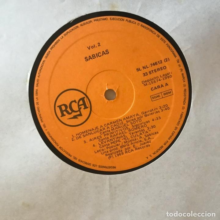 Discos de vinilo: Sabicas Con Las Voces De Camarón De La Isla, Manolo Soto Sordera, Pepe El Culata Y Otros - Foto 4 - 215351858