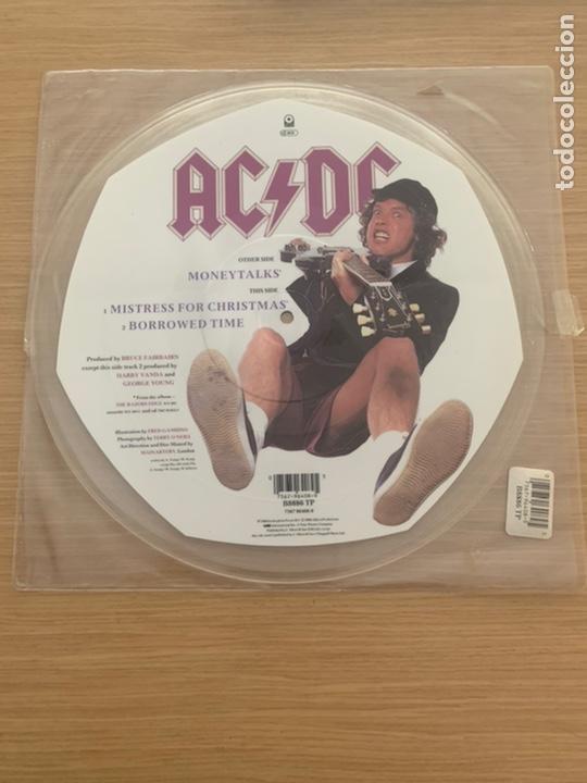 """AC/DC MONEYTALKS DISCO 12"""" (Música - Discos - LP Vinilo - Heavy - Metal)"""