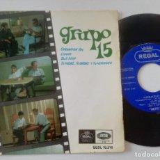Discos de vinilo: GRUPO 15 - OPERACION SOL + 3 - EP REGAL EMI 1967 // SKA POPSIKE BEAT. Lote 215368313