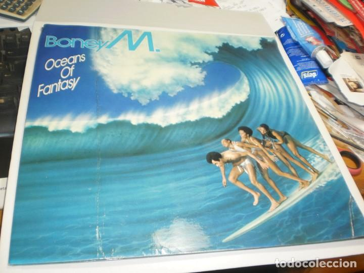 LP BONEY M.OCEANS OF FANTASY. ARIOLA 1978 SPAIN CON DESPLEGABLE VER FOTOS (PROBADO, BIEN, LEER) (Música - Discos - LP Vinilo - Pop - Rock - Internacional de los 70)