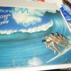 Discos de vinilo: LP BONEY M.OCEANS OF FANTASY. ARIOLA 1978 SPAIN CON DESPLEGABLE VER FOTOS (PROBADO, BIEN, LEER). Lote 215380687