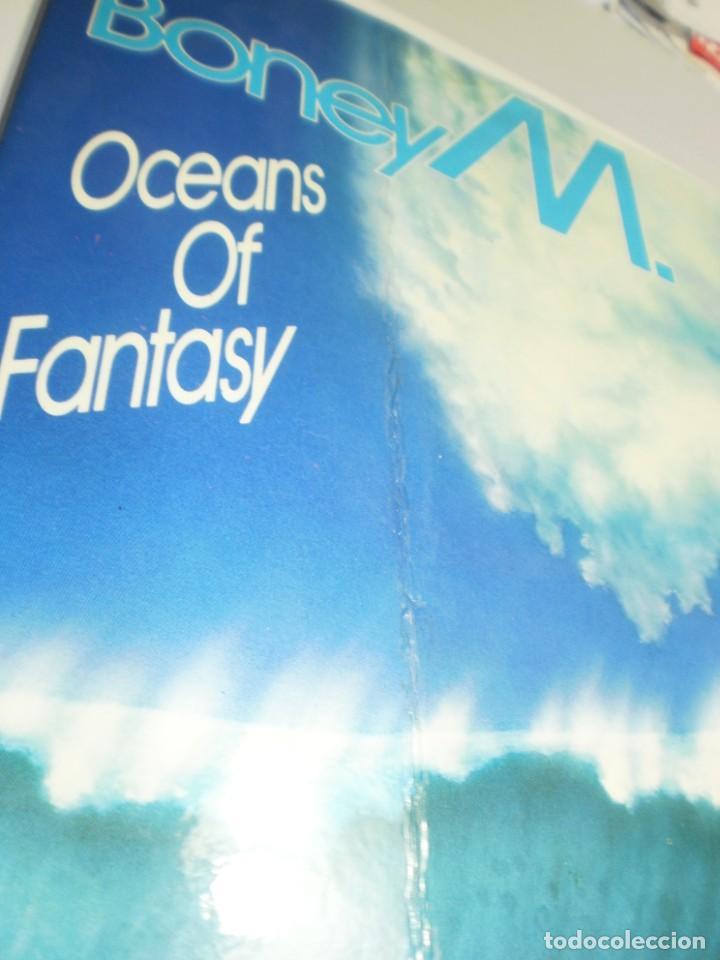 Discos de vinilo: lp boney m.oceans of fantasy. ariola 1978 spain con desplegable ver fotos (probado, bien, leer) - Foto 7 - 215380687