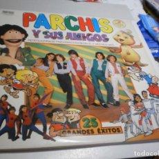 Discos de vinilo: LP DOBLE PARCHÍS Y SUS AMIGOS. 25 GRANDES ÉXITOS. BELTER 1981 SPAIN (PROBADO, BIEN, VER FOTOS). Lote 215381930