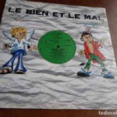 Discos de vinilo: INTERNET – SAXY JAM- LE BIEN ET LE MAL – BIEN 006-GERMANY-1996-LP-. Lote 215384646