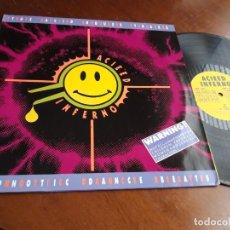 Discos de vinilo: – ACIEED INFERNO-VARIOS BCM RECORDS – BCM 33014EUROPA-1988-. Lote 215384931