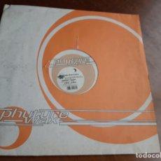 Discos de vinilo: WATCHMAN – KICK SOME SHIT-LP-GERMANY-1997-PHUTURE WAX – WAX 030-6. Lote 215385607
