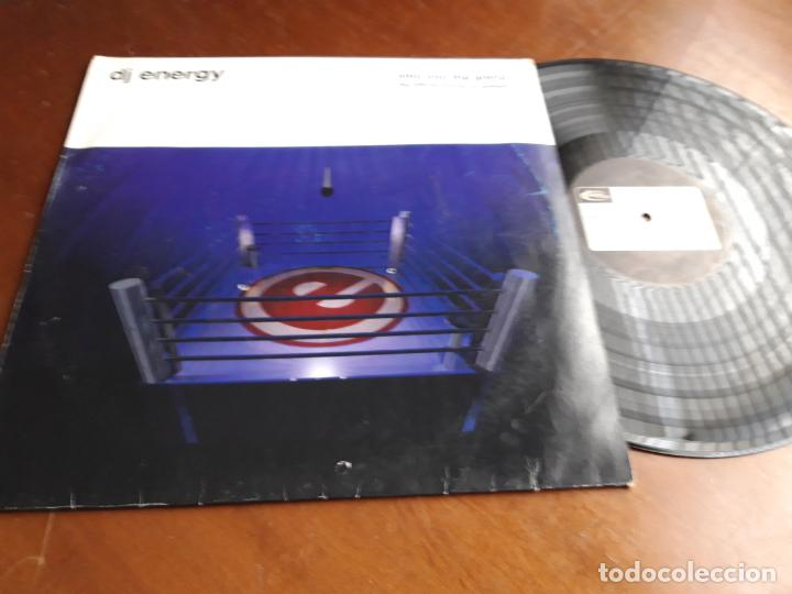 DJ ENERGY ?– STEP INTO THE ARENA (THE OFFICIAL ENERGY '97 ANTHEM)GERMANY-1997- TIME UNLIMITED ? (Música - Discos - LP Vinilo - Techno, Trance y House)