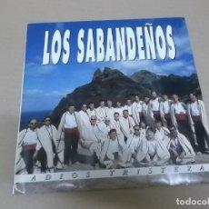 Dischi in vinile: LOS SABANDEÑOS (SINGLE) ADIOS TRISTEZA AÑO 1992. Lote 215393942