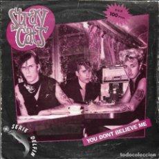 Discos de vinilo: STRAY CATS - YOU DON'T BELIEVE ME + WASN'T THAT GOOD SINGLE 1981 SPAIN. Lote 215399416