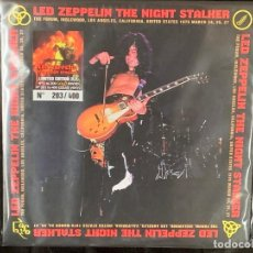 Discos de vinilo: LED ZEPPELIN - THE NIGHT STALKER - 2 LP, ED. LIMITADA, CLEAR VINYL, L.A.' 1975. Lote 215412216