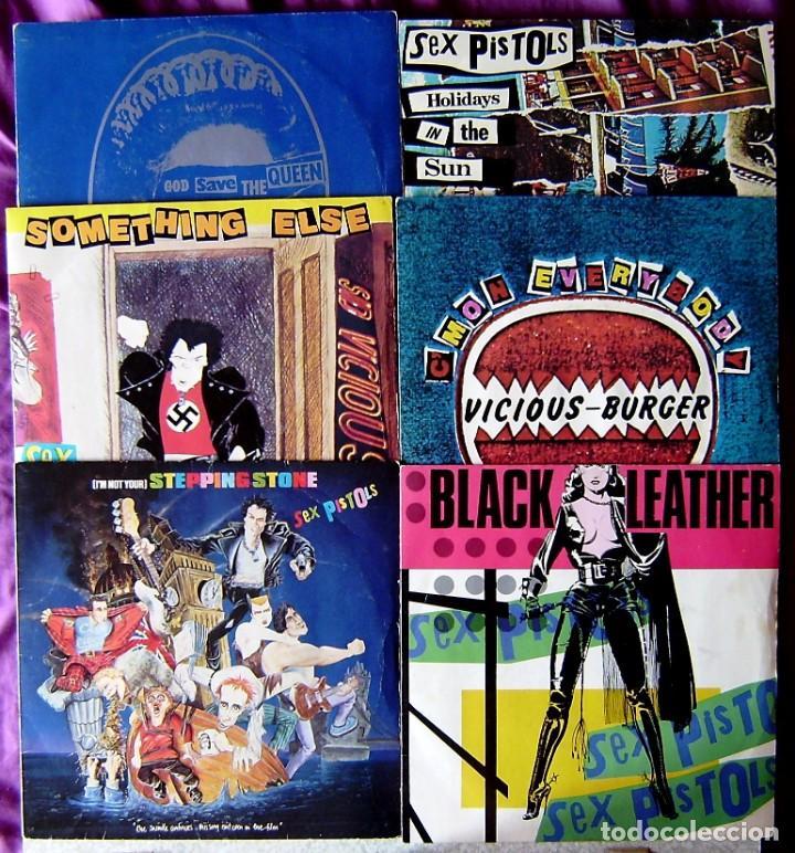 SEX PISTOLS.PISTOLS PACK...VOL 1 AL 6 (COMPLETA)...DIFICIL... ED LIMITADA 1980...UK (Música - Discos - Singles Vinilo - Punk - Hard Core)