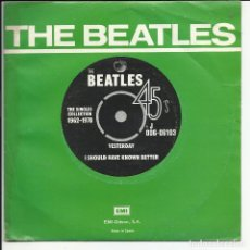 Discos de vinil: THE BEATLES – YESTERDAY SELLO: ODEON – 1J 006-06.103, APPLE RECORDS – 1J 006-06.103 ESPAÑA 1976. Lote 215419933