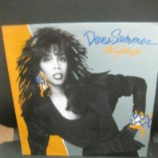 Discos de vinilo: DONNA SUMMER. ALL SYSTEMS GO.. LP WB RECORDS 1987.. Lote 215423228