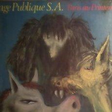Discos de vinilo: P.I.L -.PARIS AU PRINTEMPS .. Lote 215426198