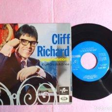 "Discos de vinilo: 7"" CLIFF RICHARD – CONGRATULATIONS - COLUMBIA – SLEM 2311 - PORTUGAL - EUROVISION - EP (VG++/VG++). Lote 215429687"