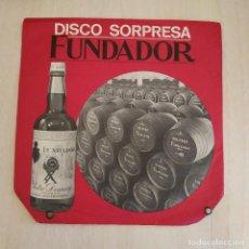 Discos de vinilo: RENATO CESARI - LA ROSA DEL AZAFRAN / LA CANCION DEL OLVIDO + 2 - EP FUNDADOR 10.180 1969 EXCELENTE. Lote 215445780