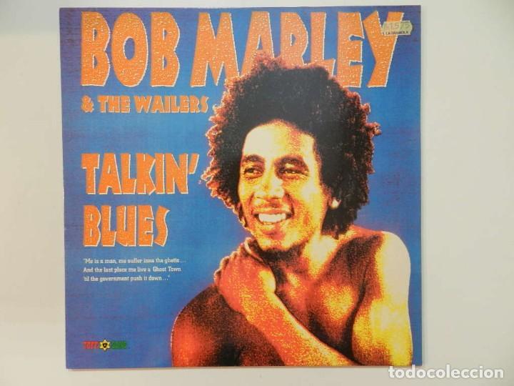 VINILO LP. BOB MARLEY & THE WAILERS - TALKIN' BLUES. 33 RPM. (Música - Discos - LP Vinilo - Reggae - Ska)