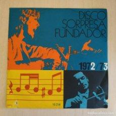 Discos de vinilo: MODULOS - UN NUEVO DIA / ADIOS AL AYER / SOLO TU / QUIERO OLVIDAR - EP FUNDADOR DE 1972 EX. ESTADO. Lote 215447116