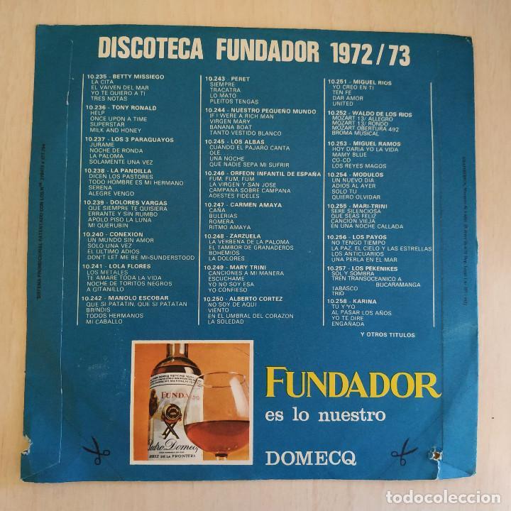 Discos de vinilo: MODULOS - UN NUEVO DIA / ADIOS AL AYER / SOLO TU / QUIERO OLVIDAR - EP FUNDADOR DE 1972 EX. ESTADO - Foto 2 - 215447116