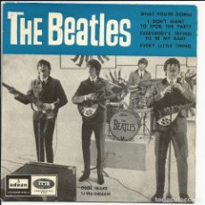Discos de vinilo: THE BEATLES .– SOLO PORTADA WHAT YOU'RE DOING ODEON – DSOE 16.642, ODEON – 1J 016-04666M. Lote 246353200