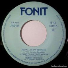 Discos de vinilo: VARIOS - FESTIVAL DE SAN REMO 1962 - EP 1962 - FONIT (GIORGIO CONSOLINI + EDDA MONTANARI). Lote 215450141