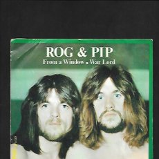 Discos de vinilo: ROG & PIP FROM A WINDOW, DISCOPHON S - 5133. Lote 215456245