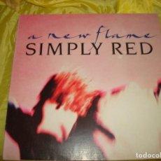 Discos de vinilo: SIMPLY RED. A NEW FLAME . WEA, 1989. MAXI-SINGLE (#). Lote 215469596