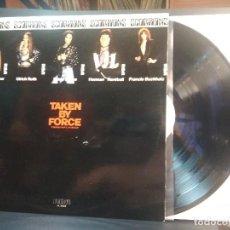 Discos de vinilo: SCORPIONS TAKEN BY FORCE (TOMADO POR .. LP SPAIN 1978 PEPETO TOP. Lote 215475545