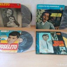Discos de vinilo: ENVIO CON TC: 4€ LOTE 4 DISCOS EP´S DE JOSELITO.AÑOS 50 Y 60 VER FOTOS.. Lote 215481198