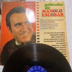Discos de vinilo: LP DISCO VINILO MANOLO ESCOBAR. Lote 215491542