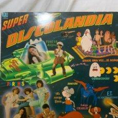 Discos de vinilo: SUPERDISCOLANDIA 2 VINILOS CON 25 EXITOS 1983. Lote 215491731