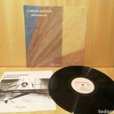 Discos de vinilo: CARLES SANTOS. PIANOTRACK.. Lote 215500740