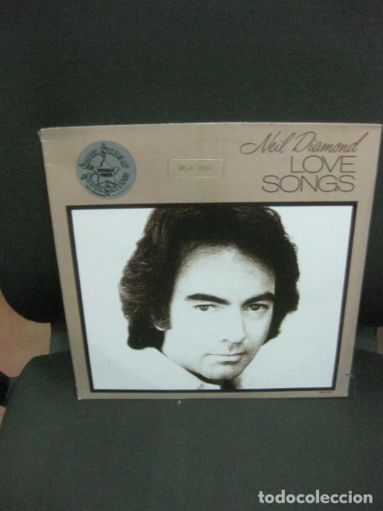 NEIL DIAMOND.LOVE SONGS. MCA-1490. LP MCA RECORDS 1981 U.S.A.. (Música - Discos - LP Vinilo - Pop - Rock - Extranjero de los 70)