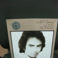Discos de vinilo: NEIL DIAMOND.LOVE SONGS. MCA-1490. LP MCA RECORDS 1981 U.S.A... Lote 215501668