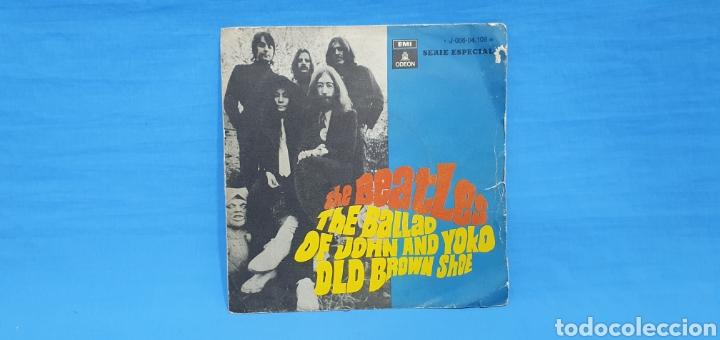 DISCO THE BEATLES - THE BALLAD OF JOHN AND YOKO OLD BROWN SHOE - 1969 (Música - Discos - Singles Vinilo - Pop - Rock Internacional de los 50 y 60)