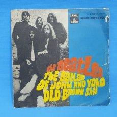 Discos de vinilo: DISCO THE BEATLES - THE BALLAD OF JOHN AND YOKO OLD BROWN SHOE - 1969. Lote 215503673