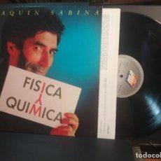 Discos de vinil: JOAQUIN SABINA FISICA Y QUIMICA LP SPAIN 1992 PEPETO TOP. Lote 215514141