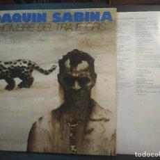 Discos de vinilo: JOAQUIN SABINA EL HOMBRE DEL TRAJE GRIS LP SPAIN 1988 PEPETO TOP. Lote 215514453