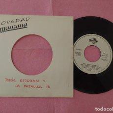 """Discos de vinilo: 7"""" JOSSIE ESTEBAN Y LA PATRULLA 15 – EL COCO - MANZANA TF 1415-89 - PROMO - (EX/EX). Lote 215515275"""
