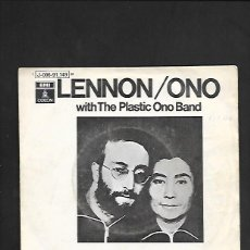 Discos de vinilo: LENNON / ONO INSTANT KARMA !, ODEON J 006 - 91.149. Lote 215517935