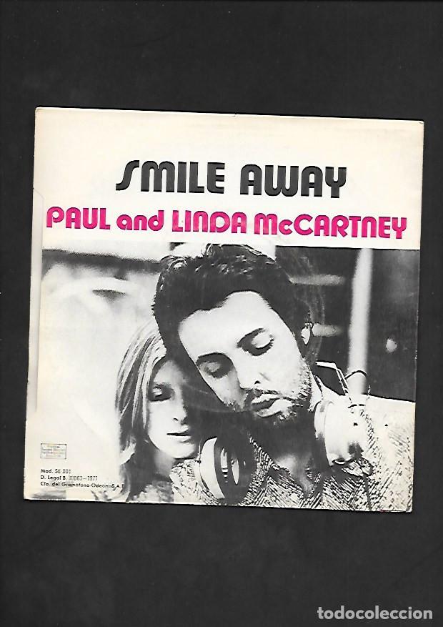 Discos de vinilo: PAUL AND LINDA McCARTNEY EAT AT HOME, EMI ODEON J 006 - 04.864 - Foto 2 - 215519606