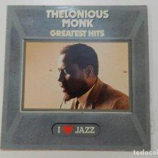 Discos de vinilo: THELONIOUS MONK - GRATEST HITS. Lote 215527952